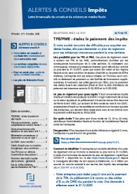 Alertes & Conseils Impôts